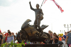 Estatua de Nicky Hayden memorial