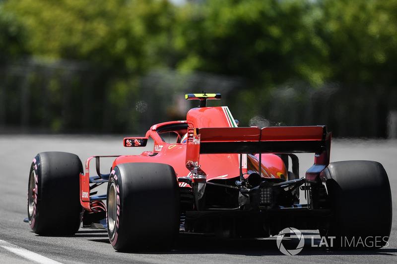5: Kimi Raikkonen, Ferrari SF71H, 1'11.095