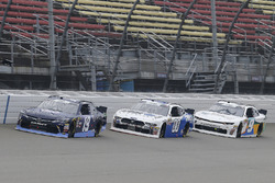Brandon Jones, Joe Gibbs Racing, Toyota Camry Toyota XYO Networks and Cole Custer, Stewart-Haas Raci