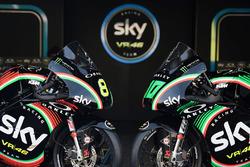 Dennis Foggia, Sky Racing Team VR46, Nicolo Bulega, Sky Racing Team VR46, avec des livrées spéciales