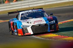 #25 Sainteloc Racing Audi R8 LMS: Christopher Haase, Markus Winkelhock, Frédéric Vervisch