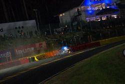 Crash of #114 Emil Frey Lexus Racing Lexus RC F GT3: Stéphane Ortelli