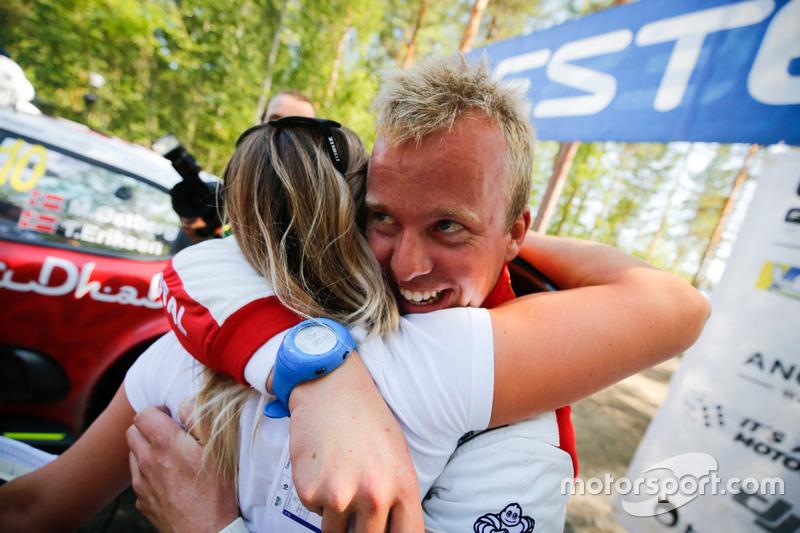 Il secondo classificato Torstein Eriksen, Citroën World Rally Team