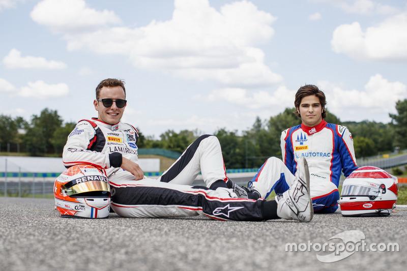 Les vainqueurs de Silverstone, Anthoine Hubert et Pedro Piquet