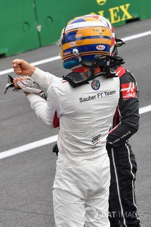 Marcus Ericsson, Sauber in parc ferme
