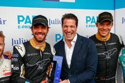 El premio Julius Baer Pole es para Jean-Eric Vergne, Techeetah