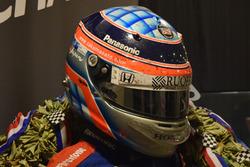 インディ500時装着のヘルメット
