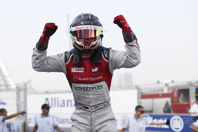 Race winner Daniel Abt, Audi Sport ABT Schaeffler