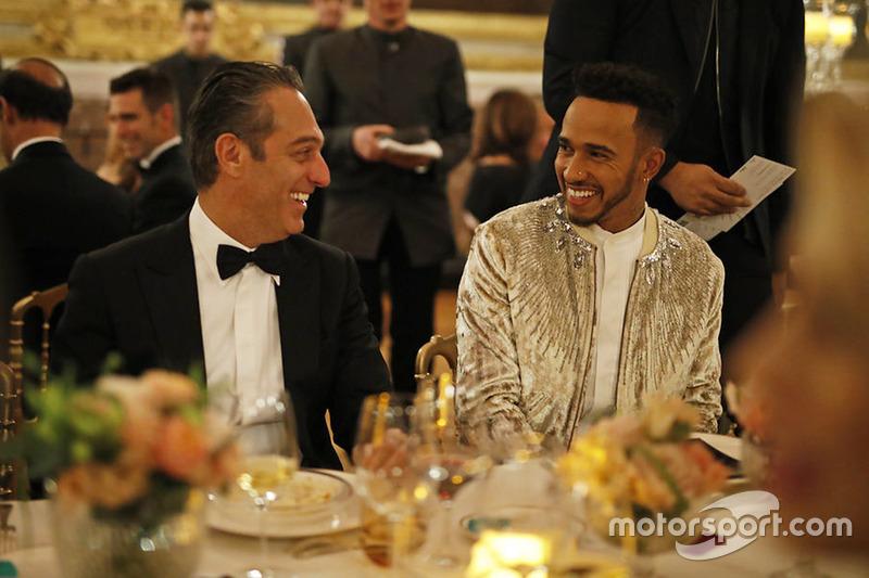 Lewis Hamilton di FIA Prize Giving 2017