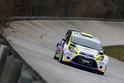 Тобиа Каваллини и Андреа Россетто, Ford Fiesta RS WRC
