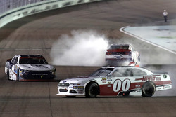 Cole Custer, Stewart-Haas Racing Ford, William Byron, JR Motorsports Chevrolet, Sam Hornish Jr., Tea