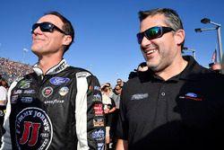 Kevin Harvick, Stewart-Haas Racing Ford, Tony Stewart