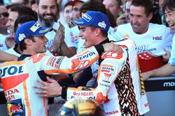 Dani Pedrosa, Repsol Honda Team, Marc Marquez, Repsol Honda Team in Parc Ferme