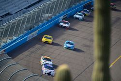 Крис Бушер, JTG Daugherty Racing Chevrolet, Чейс Эллиотт, Hendrick Motorsports Chevrolet, Кевин Харв