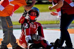 Авария: Алеш Эспаргаро, Aprilia Racing Team Gresini