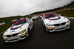 Ben Green, Ben Tuck Century Motorsport BMW M4 GT4 y Nathan Freke, David Pittard Century Motorsport B