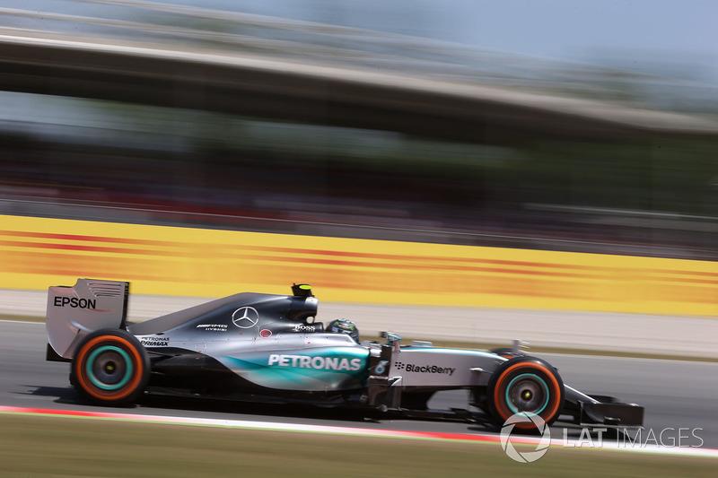 2015: Нико Росберг, Mercedes F1 W06 Hybrid