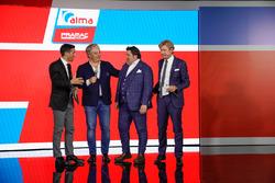 Davide Camicioli, Paolo Campinoti, Luigi Scavone e Sandro Donato Grosso