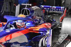 Scuderia Toro Rosso STR13, dettaglio