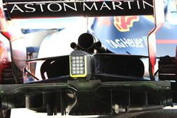 Red Bull Racing RB14, dettaglio dello scarico