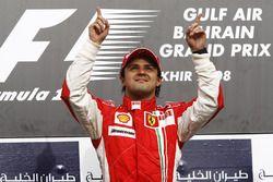 Il vincitore della gara Felipe Massa, Ferrari