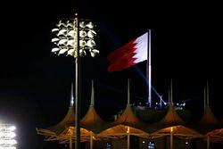 Sfeerbeeld met vlag van Bahrein