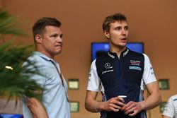 Mika Salo y Sergey Sirotkin, Williams
