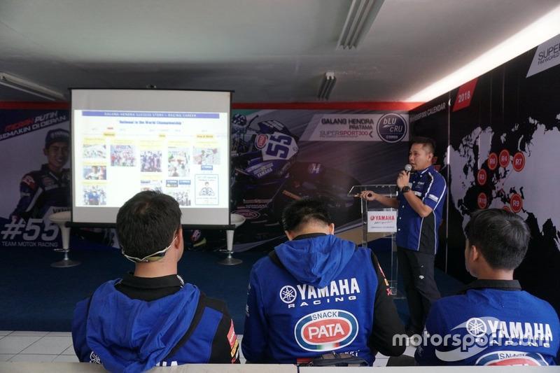 Wahyu Rusmayadi, Supervisor Motor Sport Department PT Yamaha Indonesia Motor Mfg.