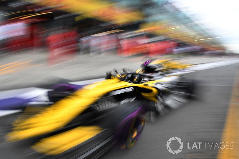 Ніко Хюлькенберг, Renault Sport F1 Team RS18