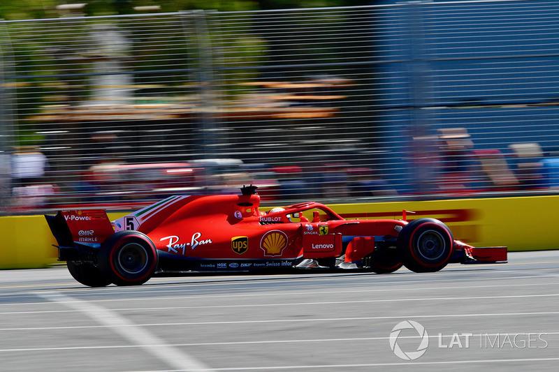 Себастьян Феттель, Ferrari SF-71H