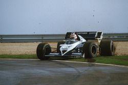 Nelson Piquet, Brabham BT53 en tête-à-queue