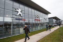 PSA factory building entrance