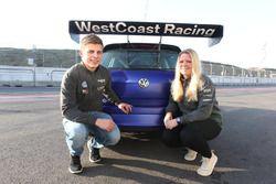 Andreas Bäckman, Jessica Bäckman, WestCoast Racing
