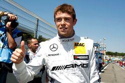 Polesitter Paul Di Resta, Mercedes-AMG Team HWA, Mercedes-AMG C63 DTM