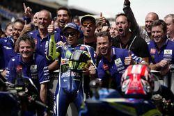 Segundo lugar, Valentino Rossi, Yamaha Factory Racing