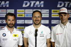 Pressekonferenz: Timo Glock, BMW Team RMG, BMW M4 DTM; Gary Paffett, Mercedes-AMG Team ART, Mercedes