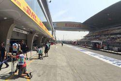 China GP Pitlane