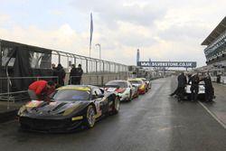 #56 AT Racing Ferrari F458 Italia: Alexander Talkanitsa Sr., Alexander Talkanitsa Jr., Alessandro Pi