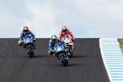Маверик Виньялес, Team Suzuki Ecstar MotoGP, Алеш Эспаргаро, Team Suzuki Ecstar MotoGP, Андреа Довиц