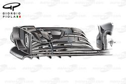 McLaren MP4/31 front wing, United States GP