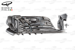 McLaren MP4/31, ala anteriore, GP degli Stati Uniti
