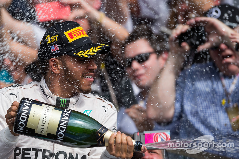 La 16ª llegó en Austin con Lewis Hamilton