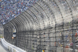 NASCAR officials and fencing at Martinsville