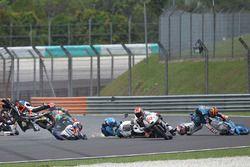 Philipp Oettl, Schedl GP Racing, Jorge Martin, Aspar Team Mahindra Moto3, Aron Canet, Estrella Galic