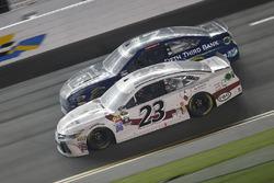 David Ragan, BK Racing, Toyota; Ricky Stenhouse Jr., Roush Fenway Racing, Ford