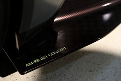 Foto detalle del coche concepto AM-RB 001 Aston Martin y Red Bull Racing proyecto AMRB 001