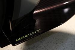 Detail van de AM-RB 001 van Aston Martin en Red Bull Racing