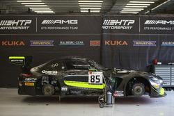 85 HTP Motorsport, Mercedes-AMG GT3: Luciano Bacheta, Indy Dontje, Clemens Schmid