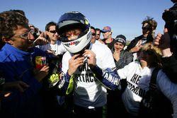 Kampioenschap winnaar Valentino Rossi