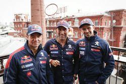 Sébastien Loeb, Stéphane Peterhansel, Cyril Despres, Peugeot Sport